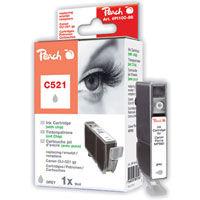 Cartridge Peach CLI-521gy grey (Canon kompatibilný)
