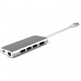 LMP USB-C mini Dock 8-port - Space Grey