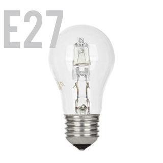 GE Halogen E27/GLS/30W/2800K/405lm/Číra