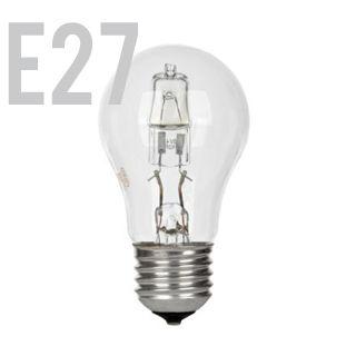 GE Halogen E27/GLS/53W/2900K/850lm/Číra
