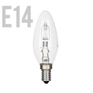 GE Halogen E14/CAN/30W/2800K/405lm/Ćíra