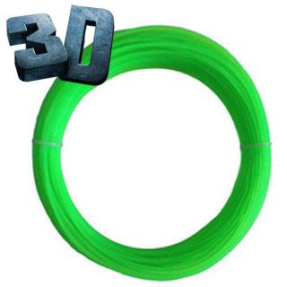 Nápln PLA pre 3D pero fluores neon. zelená 1.75mm