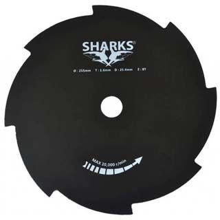 SHARKS Nôž ku krovinorezu 8Z