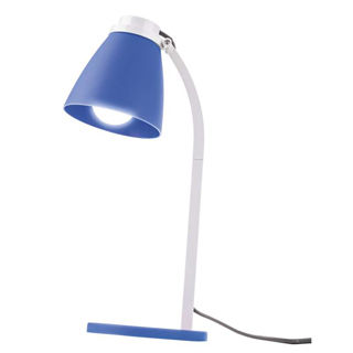 EMOS LED stolná lampa LOLLI 6 W E14 modrá