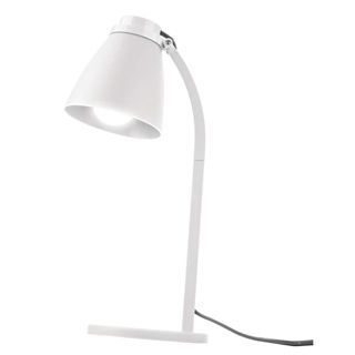 EMOS LED stolná lampa LOLLI 6 W E14 biela