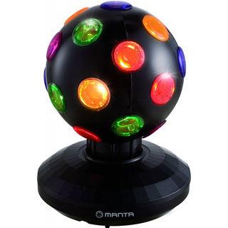 """MANTA 4"""" rotačná disko guľa BALL MDL006"""