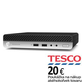 HP ProDesk 400 G3 DM i3-7100T/8GB/256GB/Int/W10P
