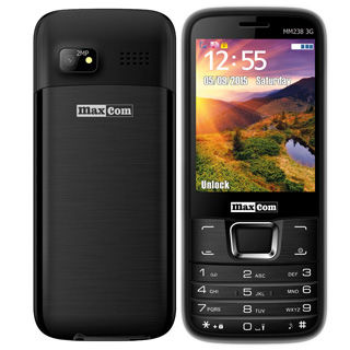 MAXCOM Telefón CLASSIC MM238 3G Čierny