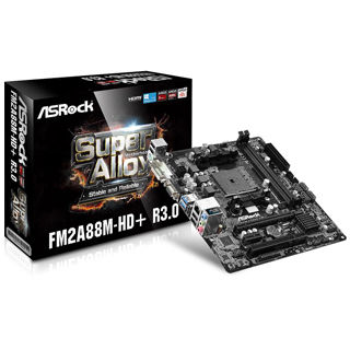 ASROCK Základná doska FM2A88M-HD+ R3.0