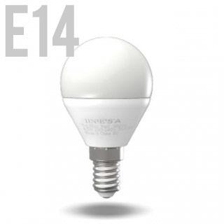 INESA LED žiarovka E14/BALL/5W/3000K/470lm