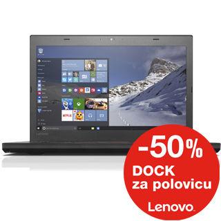 """LENOVO T460 14"""" FHD i7-6600U/8GB/512GB SSD/Int/W1"""