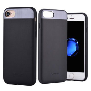 COMMA Vivid Leather case for iPhone 8/7 Black