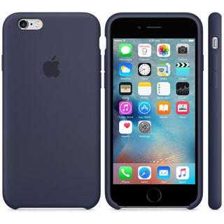 APPLE Silikónové púzdro pre iPhone 6/6s Midnight b
