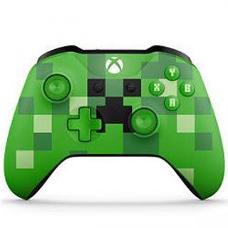 XBOX ONE S Bezdrôtový Gamepad Minecraft Creeper