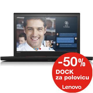 """LENOVO T560 15.5"""" 3K i7-6600U/16GB/256GB SSD/Int/W"""