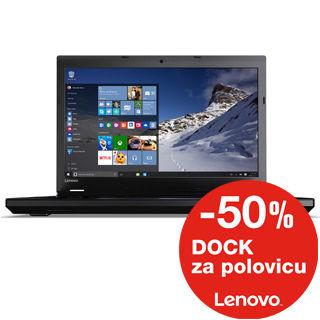 """LENOVO L560 15.6"""" HD i3-6100U/4GB/500GB/Int/W7P+W1"""