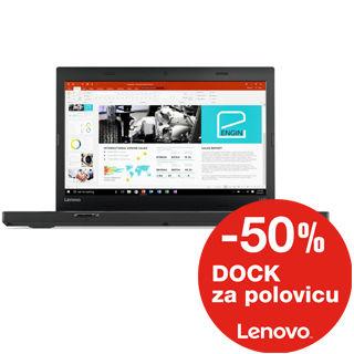 LENOVO L470 14.0 FHD i7-7600U/8GB/256GB SSD/Int/W1