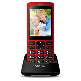 MYPHONE Telefón pre seniorov HALO PLUS červený