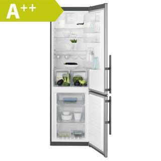 ELECTROLUX Kombinovaná chladnička EN3854MOX nerez