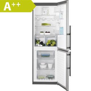 ELECTROLUX Kombinovaná chladnička EN3454MOX nerez