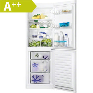 ZANUSSI Kombinovaná chladnička ZRB33103WA biela
