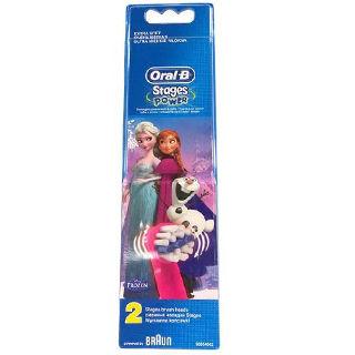 ORALB  EB 10-2 Kids Frozen náhradné kefky  2 ks