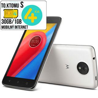 "LENOVO Moto C (3G) 1GB/8GB 5"" DUAL Sim Wht"