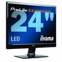 "!!! AKCIA - LED MONITOR 24"" LCD IIYAMA ProLite E2473HDS -LED, 2xHDMI,DVI,D-SUB,2ms,5000000:1,Full HD 1080p, čierny za SUPER CENU !!!"