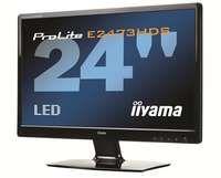 "Monitor LCD 24"" LCD iiyama E2473HDS -LED, 2xHDMI,DVI,D-SUB,2ms,5000000:1,Full HD 1080p"
