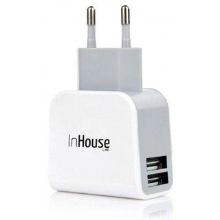 InHouse sieťová USB nabíjačka MKF-AC21USB
