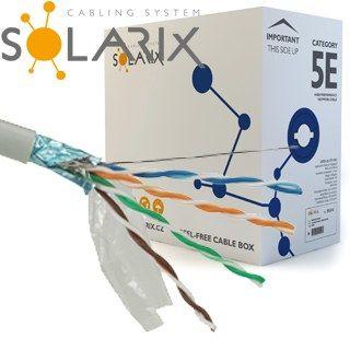 SOLARIX kábel FTP CAT5E PVC 305m/balenie