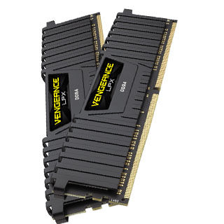 CORSAIR Vengeance LPX BLACK 32GB (2x16GB)/DDR4/240