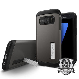 SPIGEN Slim Armor for Galaxy S7 - Gun Metal