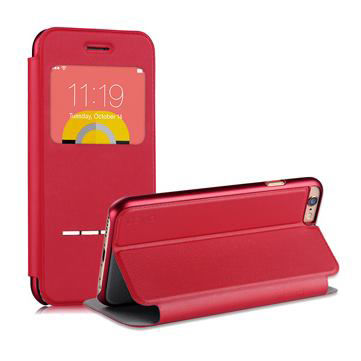 DEVIA  case for iPhone 6/6s (Touch Window) Red