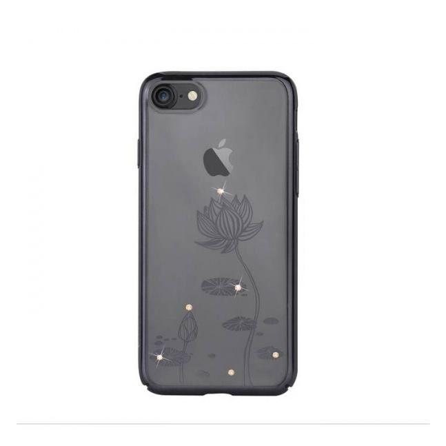 DEVIA Crystal Lotus for iPhone 7 (Swarovski) Black