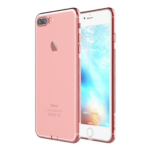 DEVIA Naked case for iPhone 7 Plus (Soft) Rose Gol
