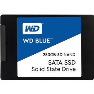 """WD SSD Blue 3D NAND 250GB/2,5""""/SATA3/7mm"""