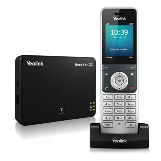 "YEALINK W56P IP DECT báza+rúčka PoE, 2,4"" bar. LCD"