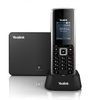 "Yealink W52P IP DECT báza+rúčka, PoE, 1,8"" bar. LC"