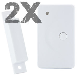 PROOVE Senzor okien/dverí 433MHz 2ks
