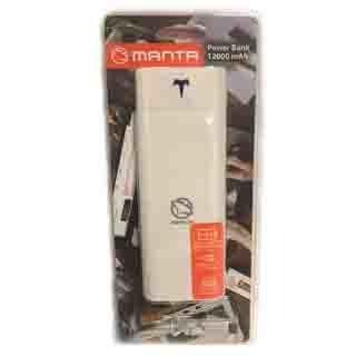 MANTA Powerbanka 12000 mAh MPB006W
