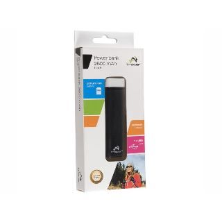 TRACER - Power Bank 2600 mAh cierna