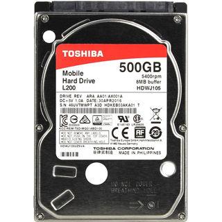 """TOSHIBA L200 500GB/2,5""""/8MB/9,5mm"""