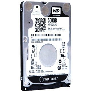 "WD BLACK Mobile 500GB 2,5""/32MB/7mm"