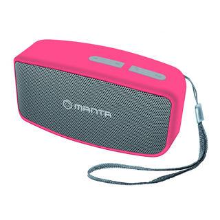 MANTA Bluetooth reproduktor SPK402Y ružový