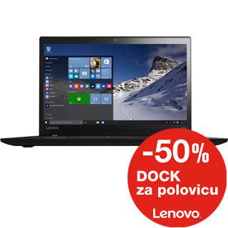 LENOVO T460s 14.0 FHD Dot i7-6600U/8GB/256GB SSD/I