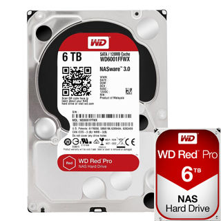 """WD Red PRO 6TB 3,5""""/128MB/26mm"""
