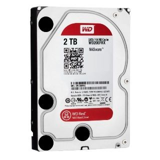 """WD Red NAS 2TB 3,5""""/64MB/26mm"""