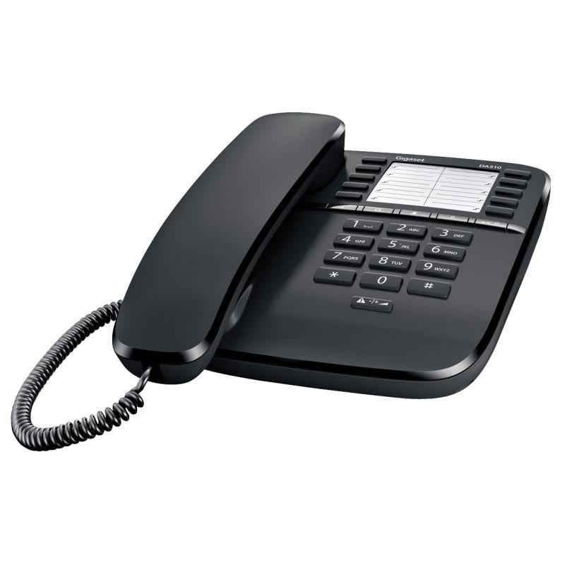 Gigaset DA510 Telefónny prístroj čierny