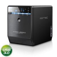 Fantec QB-35US3R USB 3.0 eSATA Raid 4xHDD